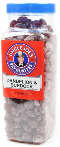 Dandelion & Burdock Drops (un-wrapped) 2.7kg Jar