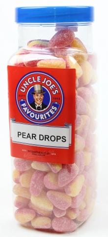 Pear Drops (un-wrapped) 2.70kg Jar