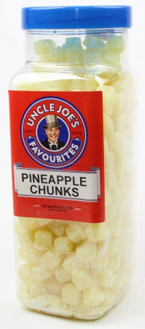 Pineapple Chunks (un-wrapped) 2.70kg Jar