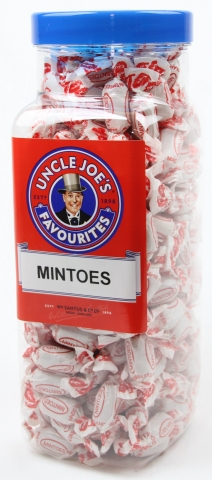 Mintoes (wrapped) 2kg Jar