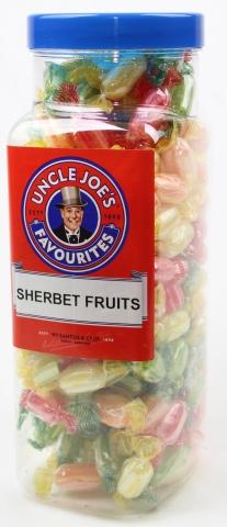 Sherbet Fruits (wrapped) 2kg Jar