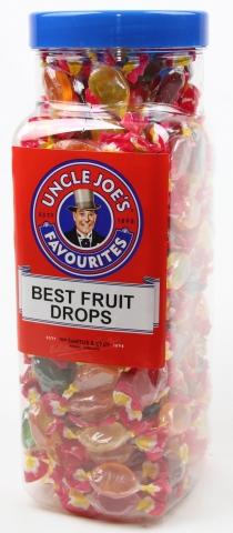 Best Fruit Drops (wrapped) 2kg Jar