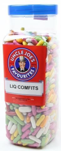 Liquorice Comfits 3kg Jar
