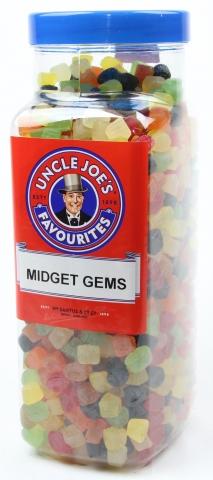 Midget Gems 3kg Jar