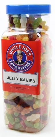 Jelly Babies 2.7kg Jar