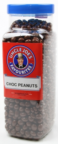 Choc Covered Peanuts 2.7kg Jar
