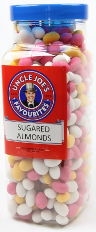 Sugared Almonds 3kg Jar