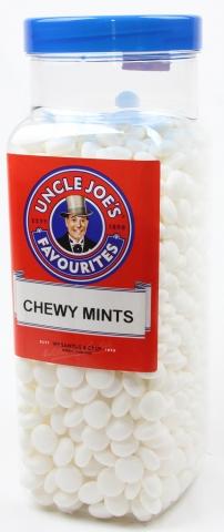 Chewy Mints 3kg Jar