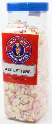 Abc Letters 1.75kg Jar