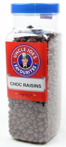 Choc Covered Raisins 2.7kg Jar
