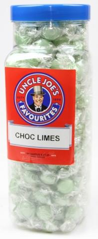Choc Flavoured Limes 2.27kg Jar