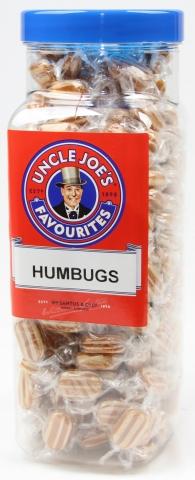 Humbugs (wrapped) 2kg Jar