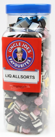 Liquorice Allsorts 2.7kg Jar