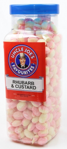 Rhubarb & Custard (un-wrapped) 2.7kg Jar