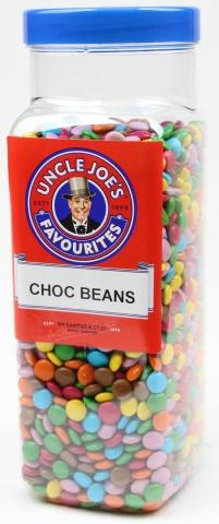 Choc Flavoured Beans 3kg Jar