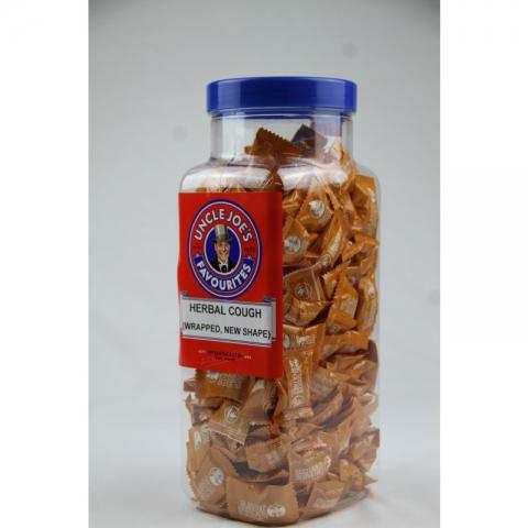 Herbal Cough 1.4kg (Flow Wrapped) Jar
