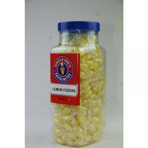 Lemon Fizzers (wrapped) 2kg Jar