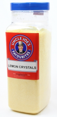 Lemon Crystals 3kg Jar