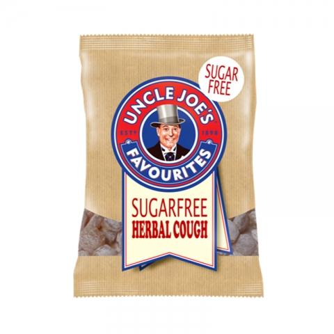 Uncle Joe's SUGAR FREE Herbal Cough 60g Bags