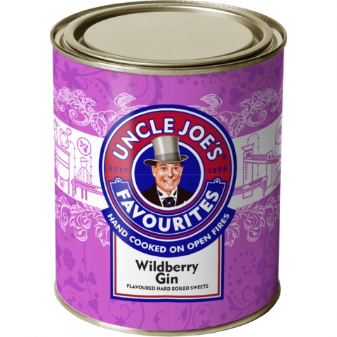 Wildberry Gin Flavoured Sweets 120G Tin