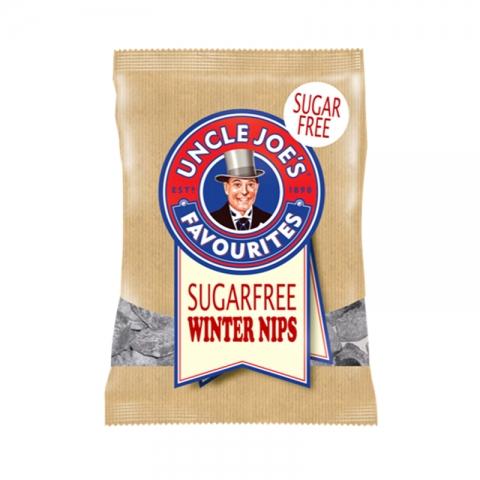 Uncle Joe's SUGAR FREE Winter Nips 60g Bags