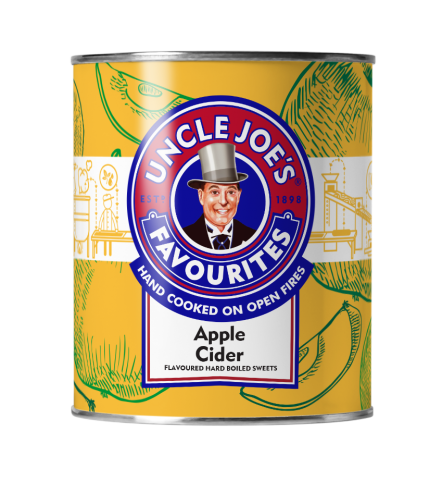 APPLE CIDER 120g TIN
