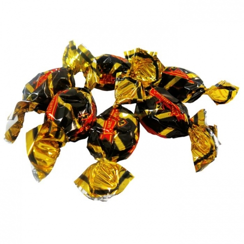 Rich Liquorice Toffees (wrapped) 1.8kg Jar