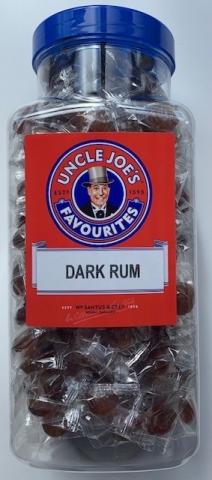 Dark Rum Flavoured Sweets 1.4kg Jar
