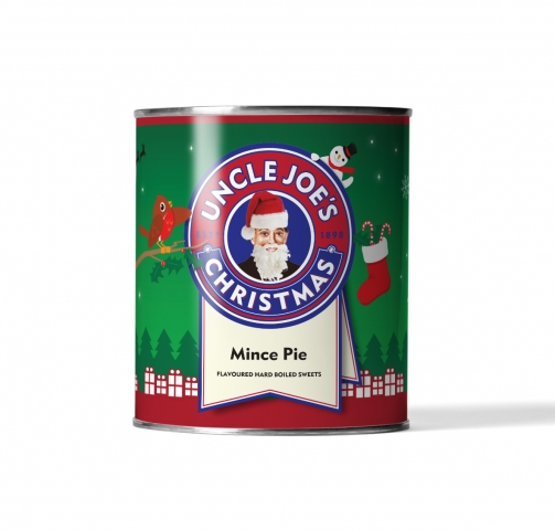 Mince Pie Flavoured Sweets 120g Tin